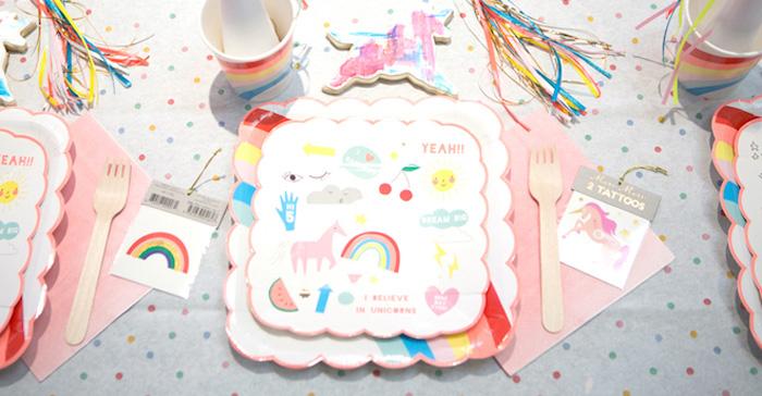 """Unicorns are Real"" Birthday Party on Kara's Party Ideas | KarasPartyIdeas.com (3)"