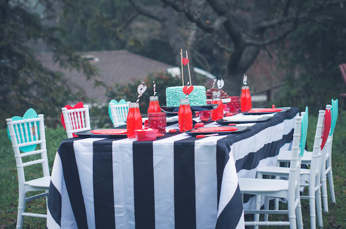 Guest tablescape from a Valentine Playdate Party on Kara's Party Ideas | KarasPartyIdeas.com (23)