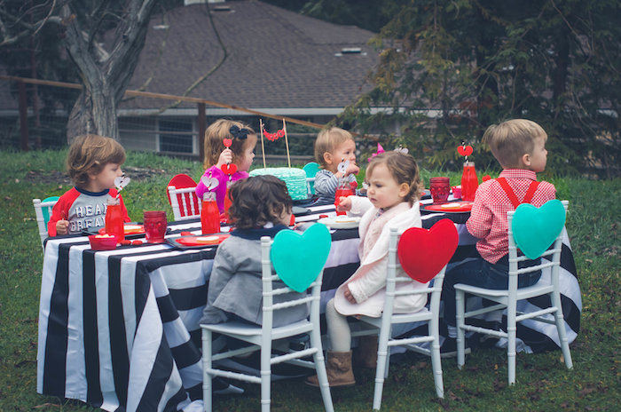 Valentine Playdate Party on Kara's Party Ideas | KarasPartyIdeas.com (18)