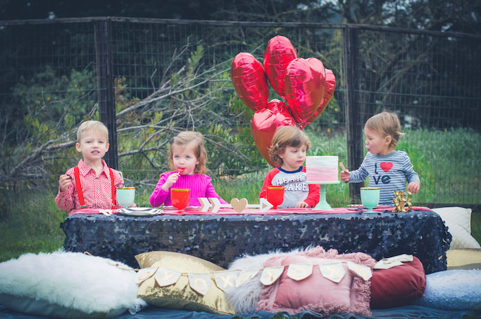 Bohemian Valentine Playdate Party on Kara's Party Ideas | KarasPartyIdeas.com (15)