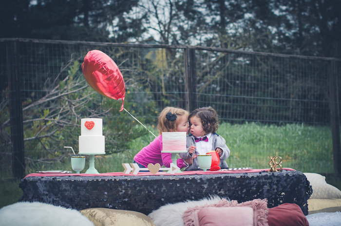 Bohemian Valentine Playdate Party on Kara's Party Ideas | KarasPartyIdeas.com (11)