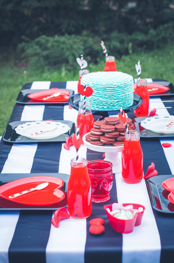 Guest table from a Valentine Playdate Party on Kara's Party Ideas | KarasPartyIdeas.com (29)