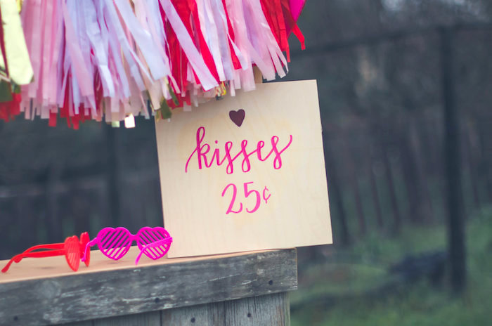 Party signage from a Valentine Playdate Party on Kara's Party Ideas | KarasPartyIdeas.com (24)