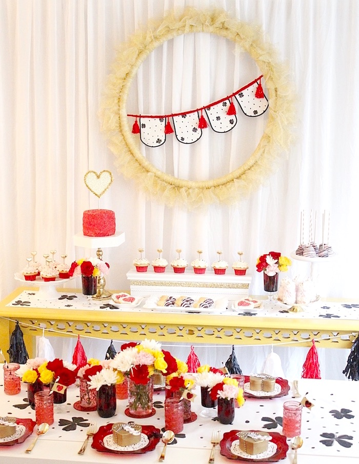 Valentine's Day Crafting Party on Kara's Party Ideas | KarasPartyIdeas.com (27)