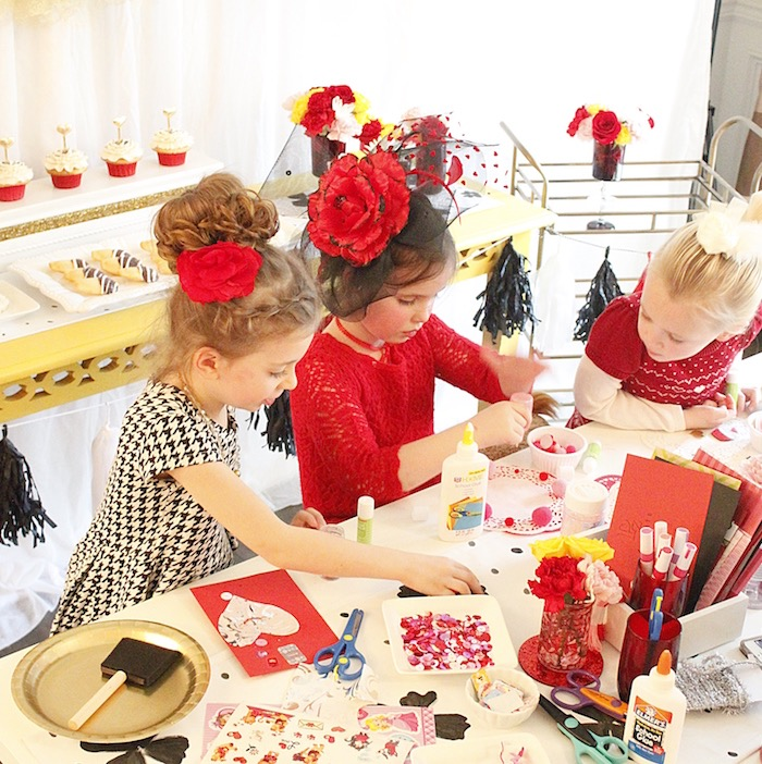Valentine's Day Crafting Party on Kara's Party Ideas | KarasPartyIdeas.com (6)