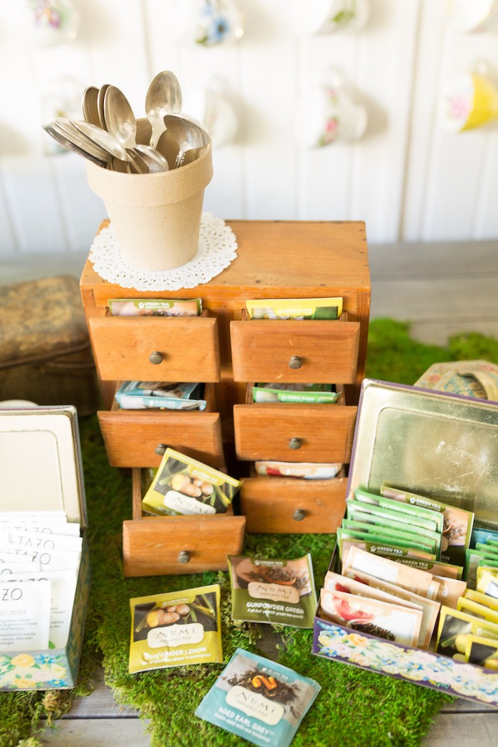 Seed packets from a Vintage Retirement Tea Party on Kara's Party Ideas | KarasPartyIdeas.com (23)