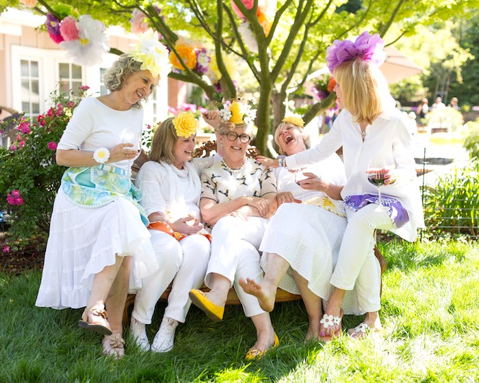 Vintage Retirement Tea Party on Kara's Party Ideas | KarasPartyIdeas.com (11)