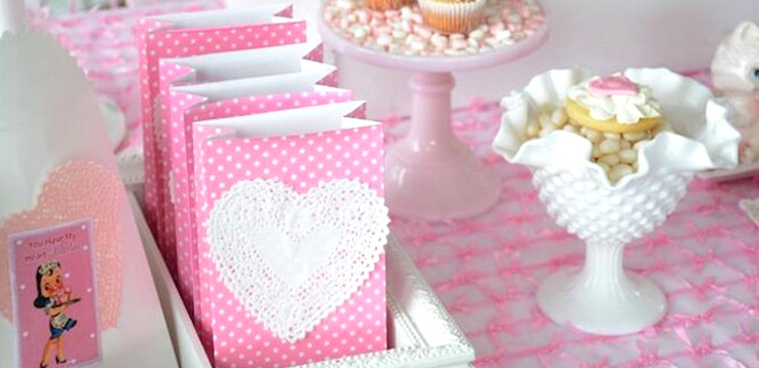 Vintage Valentine's Day High Tea Party on Kara's Party Ideas | KarasPartyIdeas.com (3)