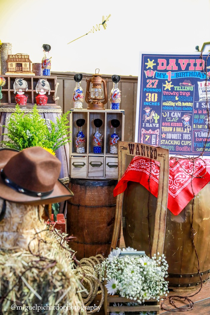 Details from a Western Cowboy Birthday Party on Kara's Party Ideas | KarasPartyIdeas.com (16)