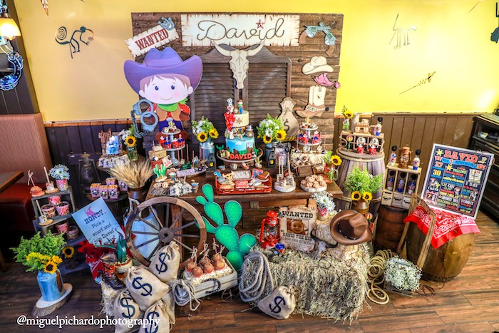 Western Cowboy Birthday Party on Kara's Party Ideas | KarasPartyIdeas.com (14)