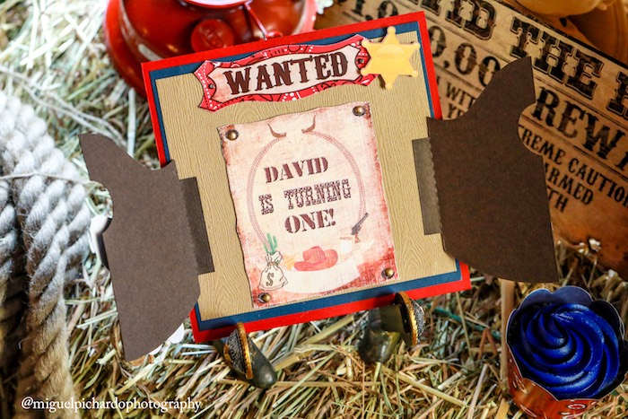 Invitation from a Western Cowboy Birthday Party on Kara's Party Ideas | KarasPartyIdeas.com (7)