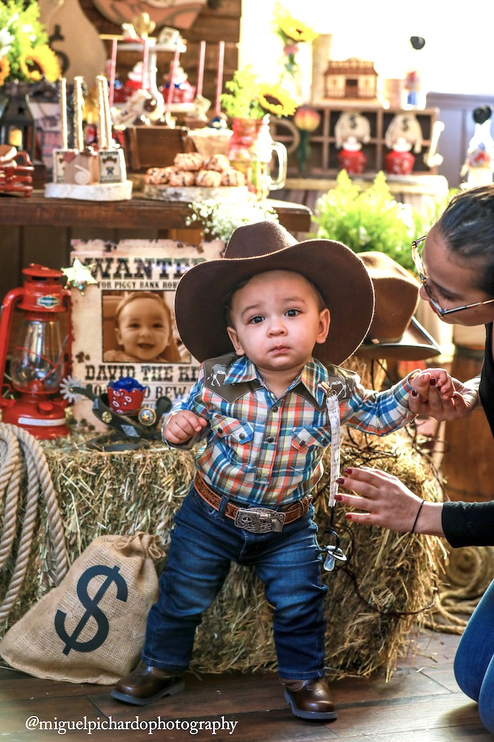 Western Cowboy Birthday Party on Kara's Party Ideas | KarasPartyIdeas.com (5)