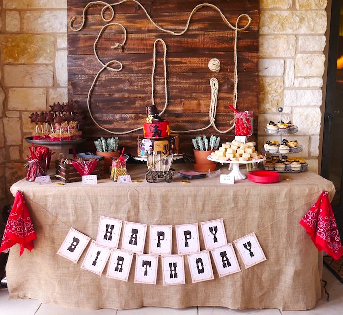 Western Ideas For Home Decorating: Kara's Party Ideas Wild West Birthday Party