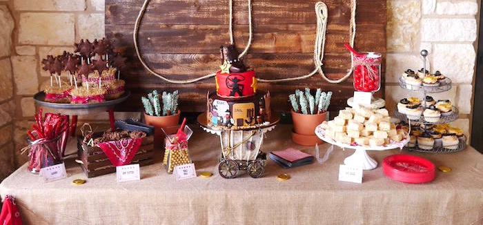 Wild West Birthday Party on Kara's Party Ideas | KarasPartyIdeas.com (6)