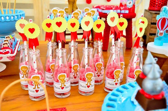 Candy favor bottles from a Wizard of Oz Birthday Party on Kara's Party Ideas | KarasPartyIdeas.com (7)