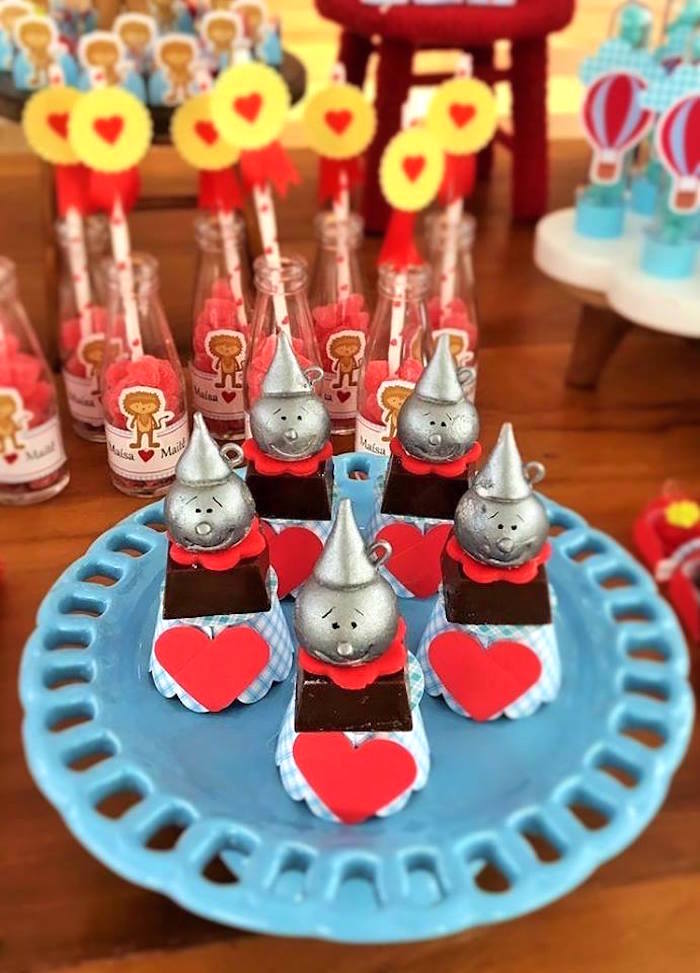 Tin Man favors from a Wizard of Oz Birthday Party on Kara's Party Ideas | KarasPartyIdeas.com (24)