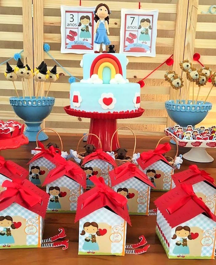 Wizard of Oz Birthday Party on Kara's Party Ideas | KarasPartyIdeas.com (21)