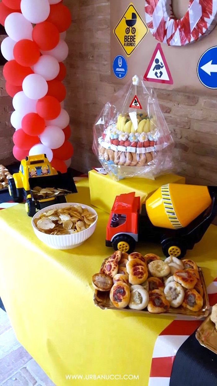 Work in Progress Construction Baby Shower on Kara's Party Ideas | KarasPartyIdeas.com (9)