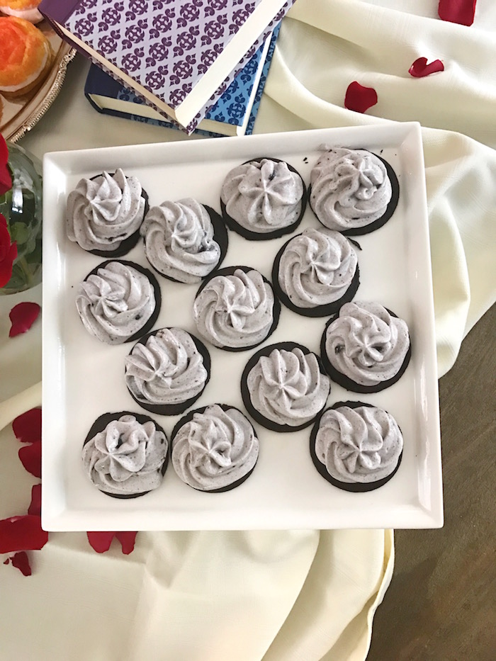 "Cookies from a ""Be Our Guest"" Beauty and the Beast Party on Kara's Party Ideas 