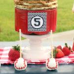 """Slugger Sleepover"" Baseball Birthday Party on Kara's Party Ideas | KarasPartyIdeas.com (2)"