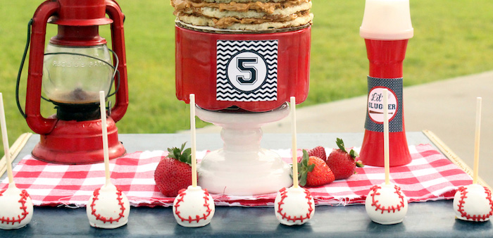 """Slugger Sleepover"" Baseball Birthday Party on Kara's Party Ideas 