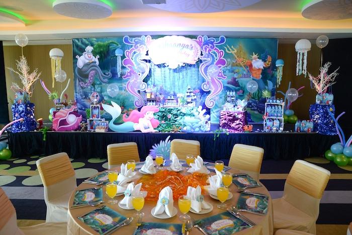 Kara S Party Ideas Ariel The Little Mermaid Birthday Party
