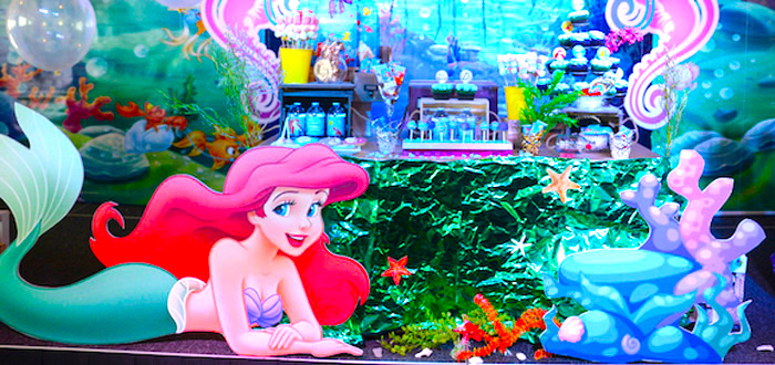 Ariel the Little Mermaid Birthday Party on Kara's Party Ideas | KarasPartyIdeas.com (2)