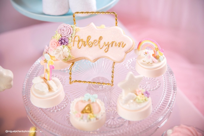 Karas Party Ideas Baby Unicorn 1st Birthday Party