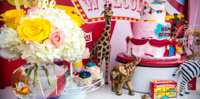 Backyard Carnival Birthday Party on Kara's Party Ideas | KarasPartyIdeas.com (3)