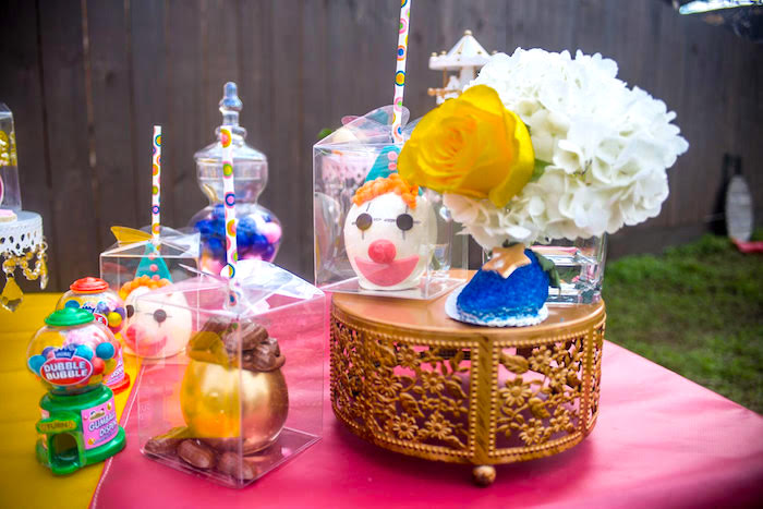 Candy apples from a Backyard Carnival Birthday Party on Kara's Party Ideas | KarasPartyIdeas.com (21)