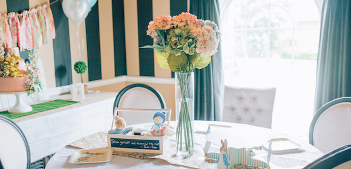 Beatrix Potter's Peter Rabbit Inspired Birthday Party on Kara's Paty Ideas | KarasPartyIdeas.com (3)