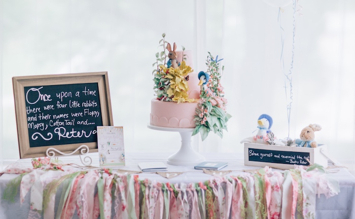 Beatrix Potter's Peter Rabbit Inspired Birthday Party on Kara's Paty Ideas   KarasPartyIdeas.com (28)
