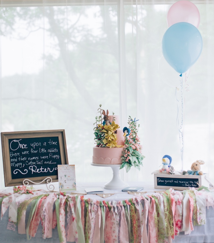Beatrix Potter's Peter Rabbit Inspired Birthday Party on Kara's Paty Ideas | KarasPartyIdeas.com (27)