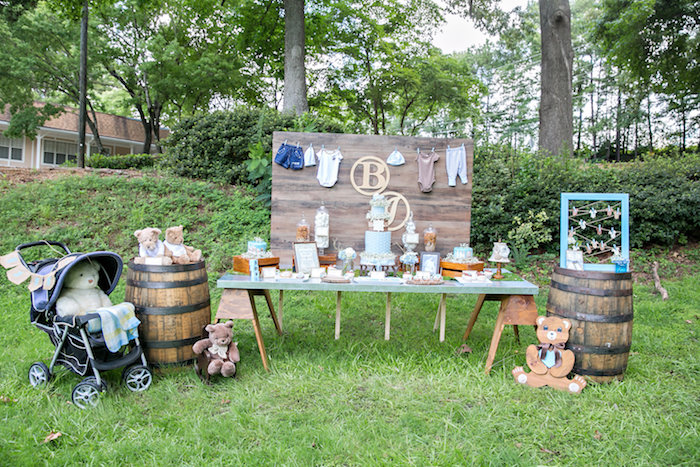 Bottles And Burlap Baby Shower On Karau0027s Party Ideas | KarasPartyIdeas.com  (19)