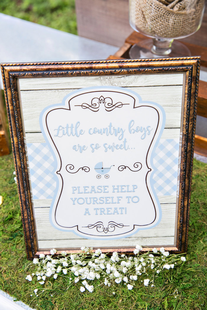 Sweet table print from a Bottles and Burlap Baby Shower on Kara's Party Ideas | KarasPartyIdeas.com (17)