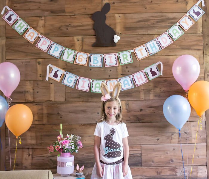Bunny and Butterfly Birthday Party on Kara's Party Ideas | KarasPartyIdeas.com (22)