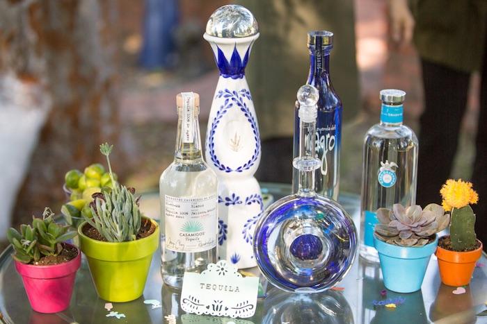 Margarita bar from a Cactus Fiesta Baby Shower on Kara's Party Ideas | KarasPartyIdeas.com (25)