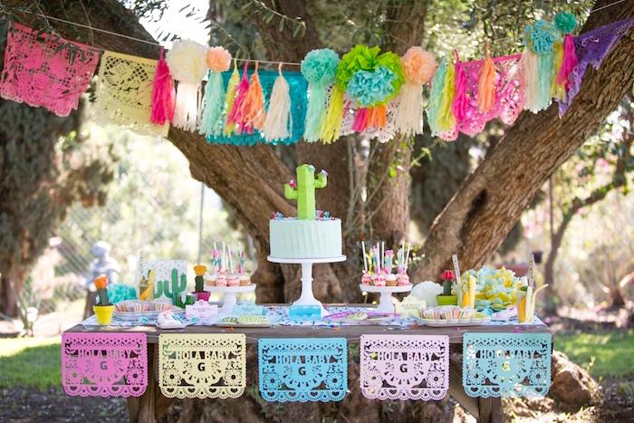 Cactus Fiesta Baby Shower on Kara's Party Ideas | KarasPartyIdeas.com (34)