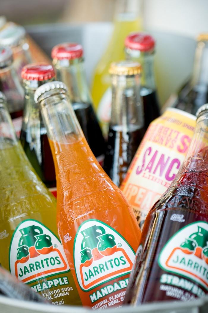 Drink bottles from a Cactus Fiesta Baby Shower on Kara's Party Ideas | KarasPartyIdeas.com (4)
