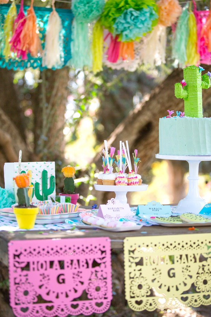 Good Cactus Fiesta Baby Shower