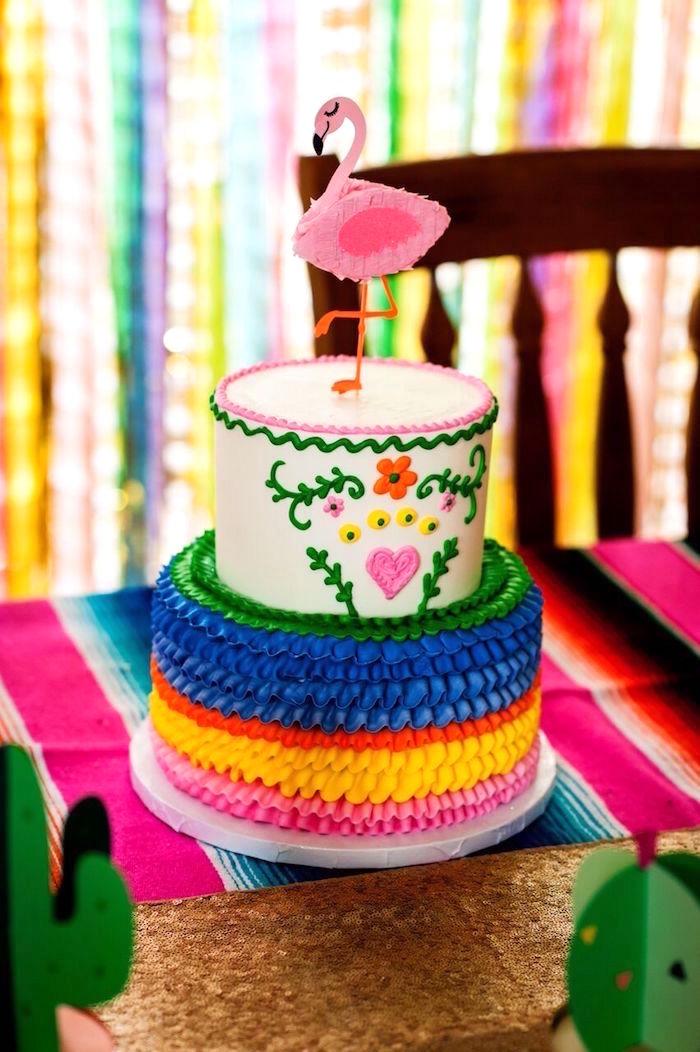 kara s party ideas cactus amp flamingo first birthday fiesta