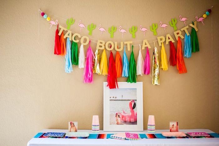 Cactus & Flamingo First Birthday Fiesta on Kara's Party Ideas | KarasPartyIdeas.com (37)