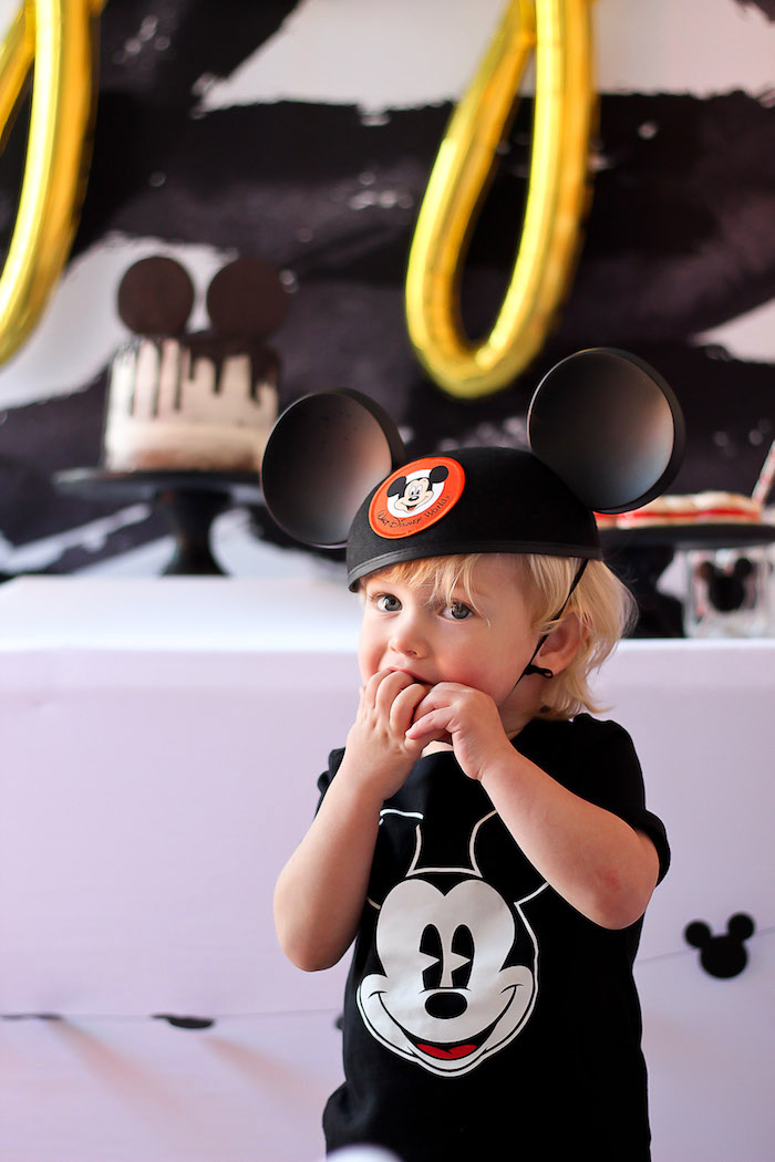 Classic Mickey Mouse Birthday Party on Kara's Party Ideas | KarasPartyIdeas.com (6)