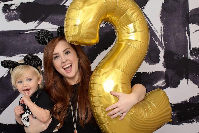 Classic Mickey Mouse Birthday Party on Kara's Party Ideas | KarasPartyIdeas.com (12)