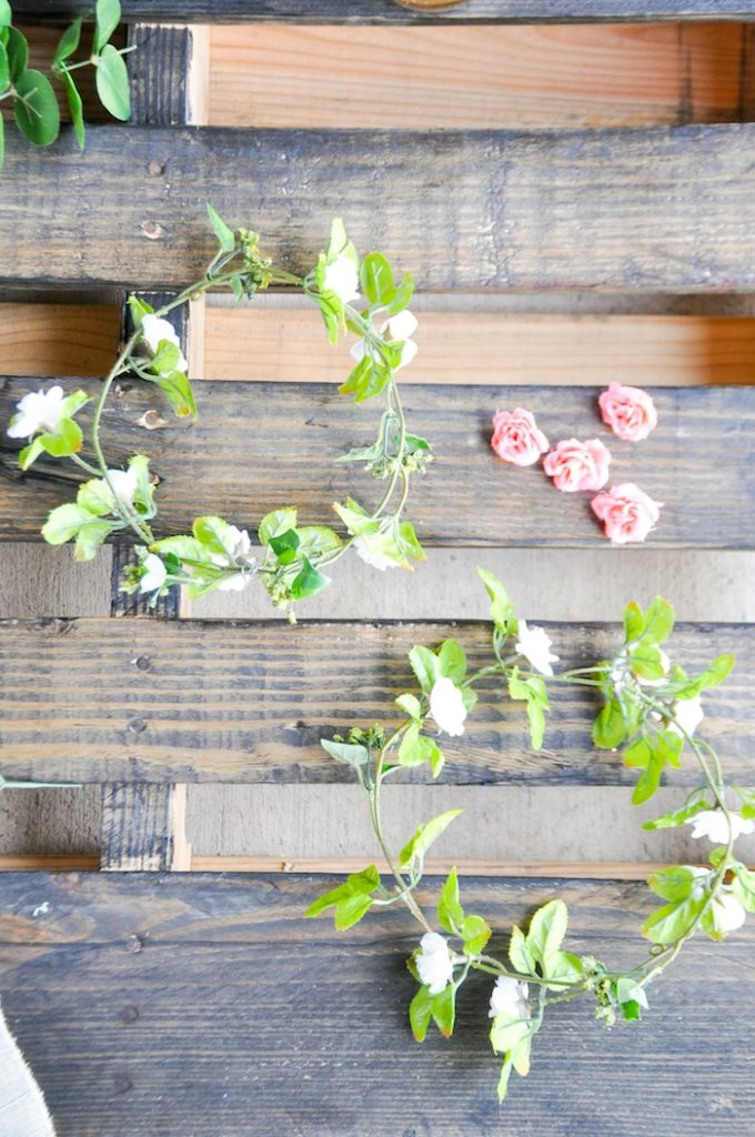 DIY Floral Crown Bar via Kara's Party Ideas