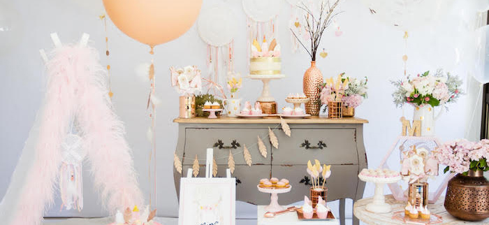 Dreamy Dream Catcher Birthday Party on Kara's Party Ideas | KarasPartyIdeas.com (4)