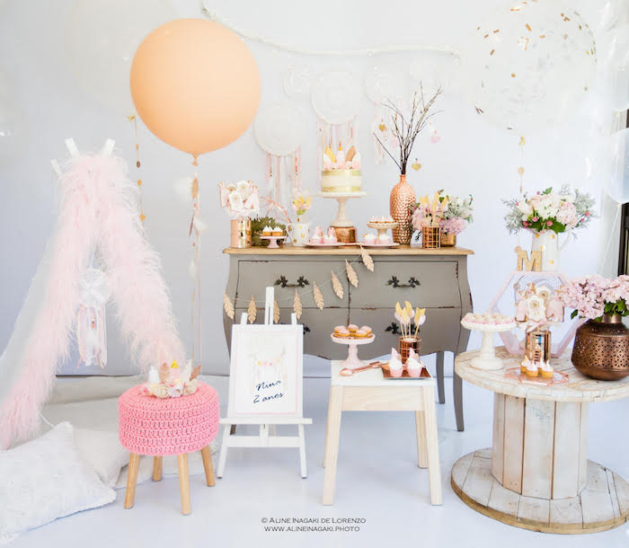 Dreamy Dream Catcher Birthday Party on Kara's Party Ideas | KarasPartyIdeas.com (19)