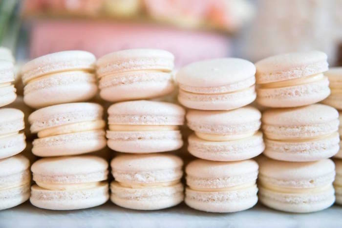 Macarons from a Dreamy Swan Soiree on Kara's Party Ideas | KarasPartyIdeas.com (14)