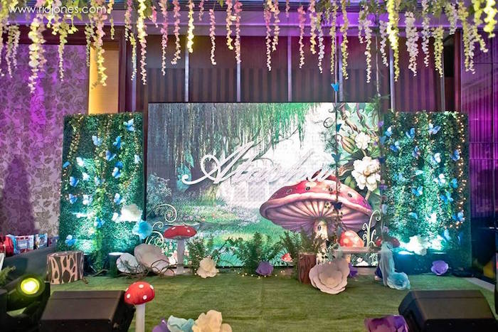 Kara S Party Ideas Enchanted Garden Princess Birthday