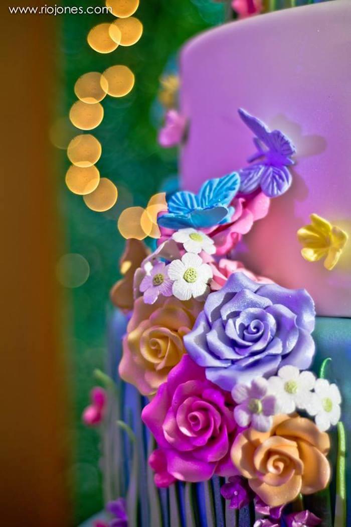 Kara S Party Ideas Enchanted Garden Princess Birthday